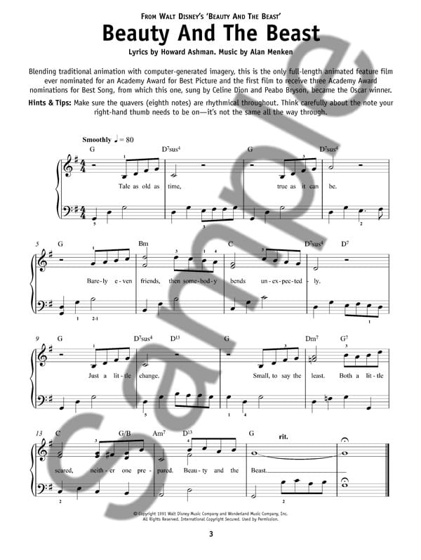 graphic about Beauty and the Beast Piano Sheet Music Free Printable identify straightforward piano sheet new music for disney music absolutely free Free of charge Downloads â–·â–·