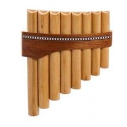 Instrument de Musique : Flûte de Pan - Instrument - FLUTE DE PAN Premium en Do majeur à 8 tubes - Partition - di-arezzo.fr