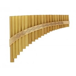 Instrument de Musique : Flûte de Pan - Instrument - SOLIST PAN FLUTE in G major with 22 tubes - Accessory - di-arezzo.com