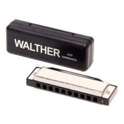 Instrument de Musique : Harmonica - WALTHER Harmonica - RICHTER model in C major with 20 notes - Accessory - di-arezzo.co.uk