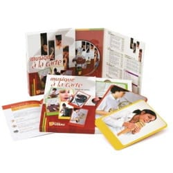 Jeu musical pour enfant - MUSIC A LA CARTE Booklet with CD FUZEAU - Accessory - di-arezzo.co.uk