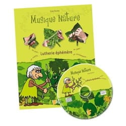 Jeu musical pour enfant - LUTHERIE EPHEMERE Booklet with CD FUZEAU - Accessory - di-arezzo.co.uk