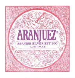 Cordes pour Guitare ARANJUEZ - Set di corde per chitarra ARANJUEZ AR200 Set argentato per basso argento - Accessorio - di-arezzo.it