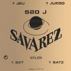 Cordes pour Guitare Classique - JEU de Cordes pour Guitare SAVAREZ CARTE JAUNE tirant très fort - Accessoire - di-arezzo.fr