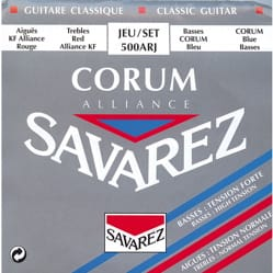 Cordes pour Guitare Classique - Corde SAVAREZ Alliance Corum 500ARJ - Chitarra classica - Accessorio - di-arezzo.it