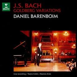 Jean-Sébastien BACH - Goldberg Variations - Barenboim - Sheet Music - di-arezzo.com