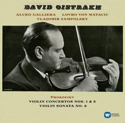 Sergei PROKOFIEV - Concertos for Violin 1 - 2 - Sonata N ° 2 by D. OISTRAKH - Sheet Music - di-arezzo.com