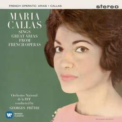Maria CALLAS - Maria CALLAS sings the great tunes of French operas - Sheet Music - di-arezzo.co.uk