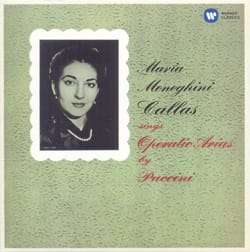 Maria CALLAS - Maria CALLAS sings operatic arias from PUCCINI - Sheet Music - di-arezzo.com