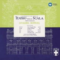 Pietro MASCAGNI - Cavalleria Rusticana - Maria CALLAS, Giuseppe DI STEFANO ... - Sheet Music - di-arezzo.com