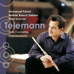 Georg Philipp TELEMANN - Concertos for Flute - Emmanuel PAHUD - Sheet Music - di-arezzo.co.uk