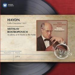 Concertos pour Violoncelle N° 1 et 2 - M. ROSTROPOVICH - laflutedepan.com
