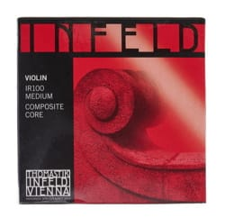 Corde seule : MI pour VIOLON 4/4 - INFELD ROUGE - Tirant MOYEN laflutedepan