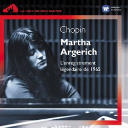 Frédéric CHOPIN - Martha ARGERICH: The legendary 1965 recording - Accessory - di-arezzo.co.uk