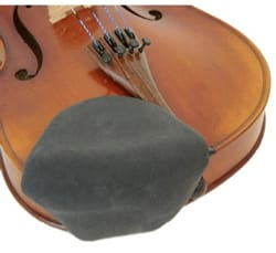 Couvre Mentonnières pour Violon et Alto - STRAD-PAD Chinrest Covers for VIOLIN and ALTO - BLACK - Accessory - di-arezzo.co.uk
