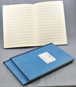 Cahier de Musique - Cahier de Musique - Gebundene Ausgabe - 14 Würfe - 96 Seiten - Notenpapier - di-arezzo.de