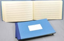 Cahier de Musique - Music Notebook - Hardcover - 8 Scraps - 48 Pages - Stationery - di-arezzo.com