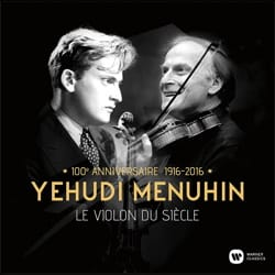 Yehudi MENUHIN - THE VIOLIN OF THE CENTURY - BEST OF - Accessory - di-arezzo.co.uk