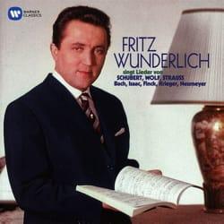 SCHUBERT, WOLF, STRAUSS... - Lieder by Fritz WUNDERLICH - Sheet Music - di-arezzo.com