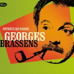 Georges BRASSENS - Happy who like ... Georges BRASSENS - 2 CDs 1 DVD - Accessory - di-arezzo.com