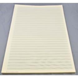 Papier à Musique - Papier à Musique - 30 portées - Grand Format - Papier - di-arezzo.fr