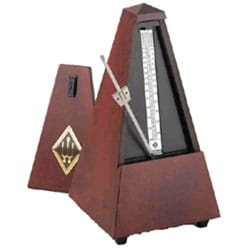 Métronome Mécanique WITTNER® - Metronome WITTNER: MATT WOOD MATT - No ringing - Accessory - di-arezzo.co.uk