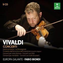Fabio BONDI - Les Concertos de VIVALDI pour Violon par Fabio BONDI - Partition - di-arezzo.fr