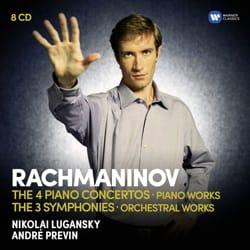 Serguei RACHMANINOV - Nikolai LUGANSKY - 4 Concertos for Piano - 3 Symphonies - Sheet Music - di-arezzo.com
