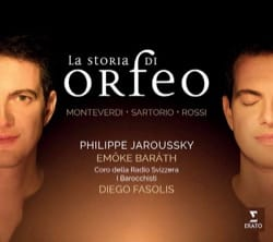 Philippe JARROUSKY - The storia di Orfeo: MONTERDI, SARTOTIO, ROSSI - Sheet Music - di-arezzo.co.uk