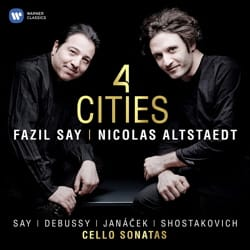 Fazil SAY & Nicolas ALSTAEDT - 4 Cities - CD - Accessory - di-arezzo.co.uk