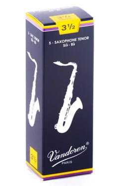 Anches pour Saxophone Ténor VANDOREN® - Vandoren SR2235 - Anches Saxophone Ténor 3.5 - Accessoire - di-arezzo.fr