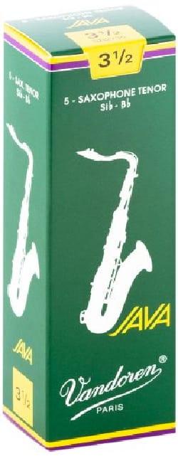 Anches pour Saxophone Ténor VANDOREN® - 5 VANDOREN reeds JAVA series for SAXOPHONE TENOR force 3,5 - Accessory - di-arezzo.co.uk