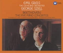 Emil GILELS - Beethoven: the 5 Piano Concertos - Accessory - di-arezzo.co.uk