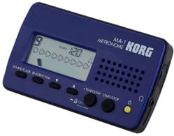 Métronome Electronique - KORG Metronome - MA-1 BLUE - Accessory - di-arezzo.co.uk