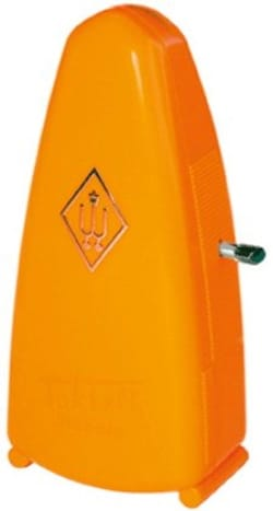Métronome Mécanique WITTNER® - WITTNER PICCOLO Metronome: Orange - Accessory - di-arezzo.co.uk
