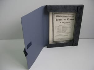 Boîte à Partitions - Partition and Archives Box with Cord - Black Marbled - Accessory - di-arezzo.com
