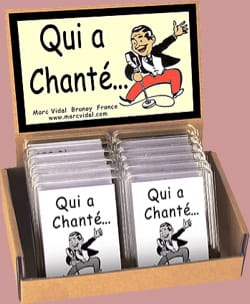 Jeu musical pour enfant - Who sang ... - Accessory - di-arezzo.co.uk
