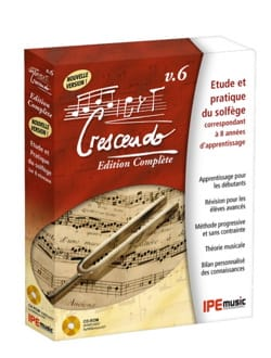 Logiciel - CRESCENDO VERSION 6 Software - Complete Edition - CD-ROM - Accessory - di-arezzo.co.uk