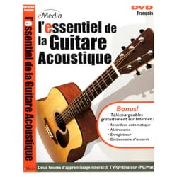 DVD - the Essential of the Acoustic Guitar - Accessory - di-arezzo.com