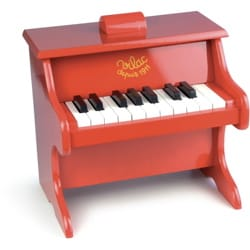Jeu Musical pour enfant - Red Piano - Children's Toy - Accessory - di-arezzo.co.uk