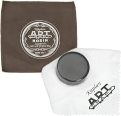 Accessoire pour instruments à cordes - KAPLAN ART CRAFT rosin dark, for VIOLIN, ALTO, and VIOLONCELLE - Accessory - di-arezzo.co.uk