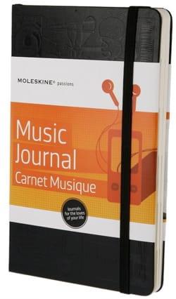 Papeterie Musicale - Carnet à musique MOLESKINE Grand format - Papier - di-arezzo.fr