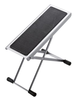 Accessoire pour Guitare - Footrest guitarist adjustable color Nickel plated KM - Accessory - di-arezzo.com