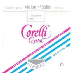 Cordes pour Violon - VIOLIN SET CRYSTAL Medium with MI ball - Accessory - di-arezzo.co.uk
