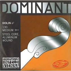 Cordes pour Violon DOMINANT - Rope only: MI for VIOLIN 4/4 - DOMINANT - MEDIUM to BALL - Accessory - di-arezzo.co.uk