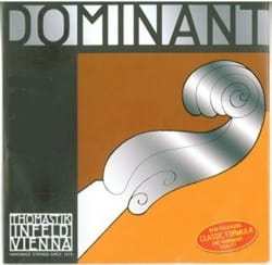 Cordes pour Violon DOMINANT - SET OF strings for VIOLIN 3/4 - DOMINANT - Tirant MEDIUM with MI spun - Accessory - di-arezzo.com