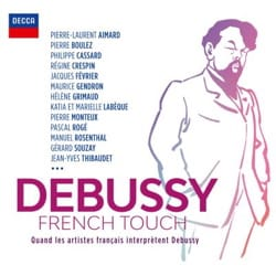 DEBUSSY Claude - DEBUSSY French Touch - CD - Accessorio - di-arezzo.it
