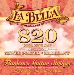 Cordes pour Guitare - LA BELLA 820 Elite Guitar String Set - Flamenco Red Nylon - Accessory - di-arezzo.co.uk
