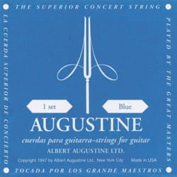 Cordes pour Guitare AUGUSTINE - AUGUSTINE Blue Guitar String Set - Accessory - di-arezzo.co.uk