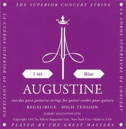 Cordes pour Guitare AUGUSTINE - JEU de Cordes pour Guitare AUGUSTINE bleu regal tirant fort - Accessoire - di-arezzo.fr